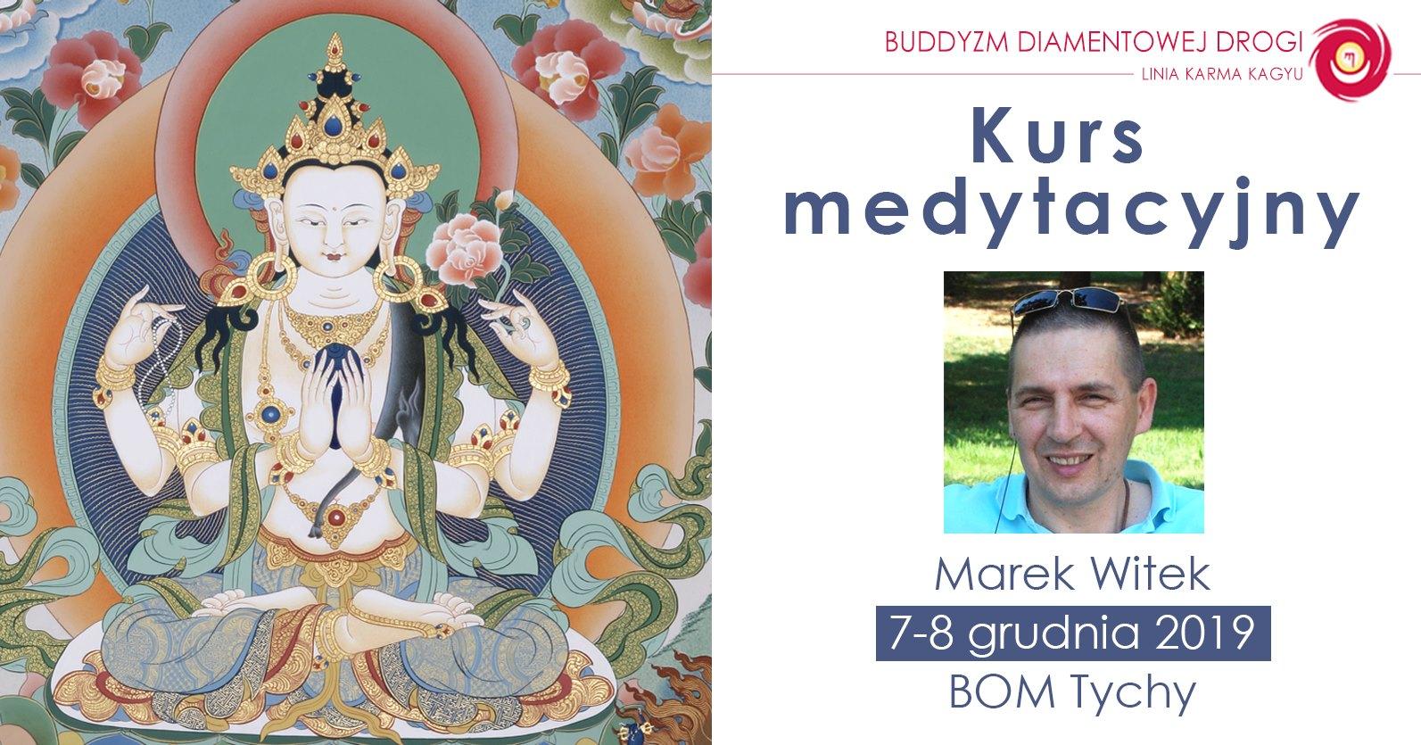 Kurs medytacyjny z Markiem Witkiem